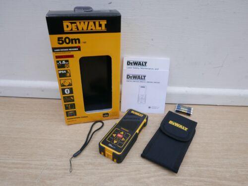 DEWALT DW03050 LDM LASER DISTANCE MEASURE 50M RANGE INCLUDES POUCH