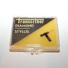 Transcriber #117 Diamond Phonograph Stylus Needle - Tetrad 63D