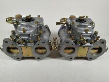 Weber carb//carburettor 50 dco//sp aleación de placas de montaje /& Anillos Nuevos
