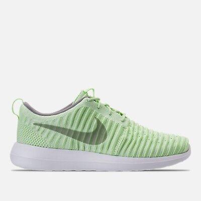 new concept be9f7 aaab3 Nike Women's Size 11 Roshe 2 Flyknits Vapor Green/Dust White [844929-301] |  eBay