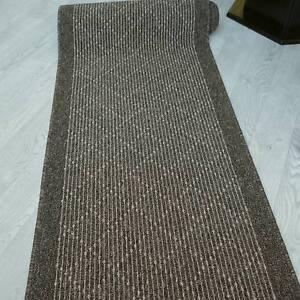 Modern-und-stabil-Teppich-Laeufer-034-TIM-KRETA-braun-034-80-cm-breit-rutschfest