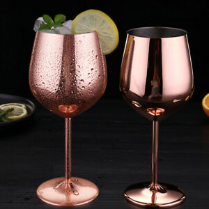 2pcs-Stainless-Steel-Wine-Glass-Champagne-Party-Wedding-Drinks-Goblet-Rose-Gold