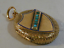 Victorian-18ct-gold-turquoise-locket-miniature-of-gent thumbnail 2
