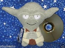 Star Wars Yoda Large Footzeez Plush Stuffed Doll by Comic Images New with Tags