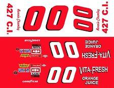#00 Ronnie Chumley Vita-Fresh Ford Torino 1/32nd Scale Slot Car Decals