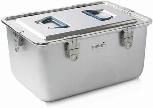 Made in Korea All Stainless Steel Airtight Premium Food Storage Container