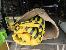 SINGER SAFETY WELDING SCREEN BLACK/YELLOW 6' X 9'