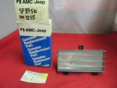 Turn Signal Lense Assembly 86 87 88 89 90 Jeep Wagoneer NOS 56001531 Or SF8956
