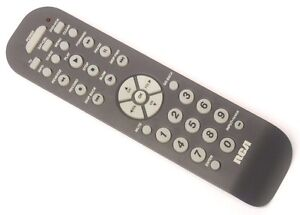 Rca: remotes: 2 and 3-device remotes: rcr3273.