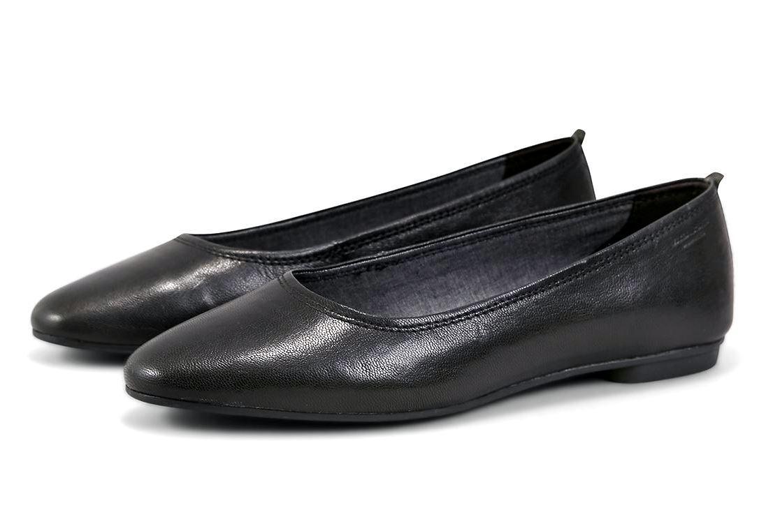 VAGABOND  BALLERINA  SANDY 4503-101-20 BLACK SCHWARZ BLACK 4503-101-20 ECHTLEDER  ORIGINAL Damen 6d79bb