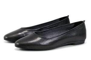 VAGABOND-Ballerina-SANDY-4503-101-20-Schwarz-BLACK-ECHTLEDER-ORIGINAL-Damen