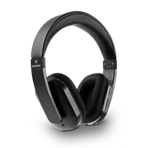 Cuffie Bluetooth Wireless IPhone NFC Alluminio Similpelle Microfono Vivavoce