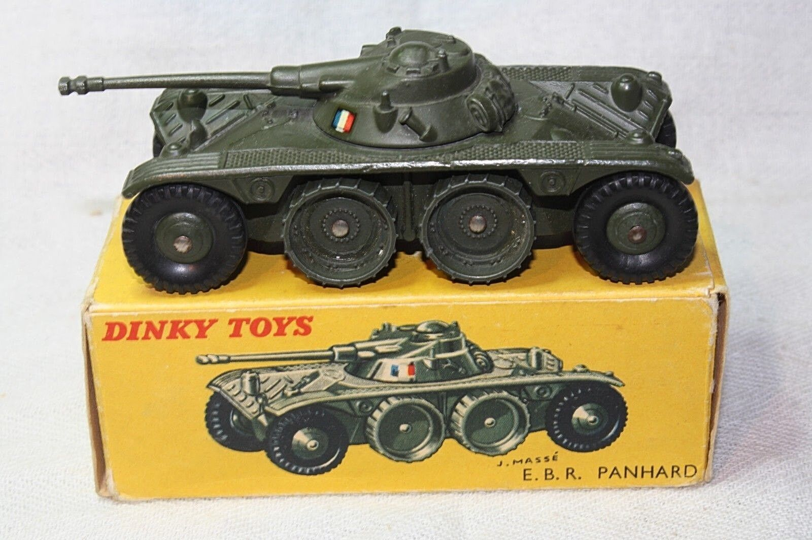 Dinky 80 A 815 PANHARD EBR, Comme neuf in Early question boîte d'origine