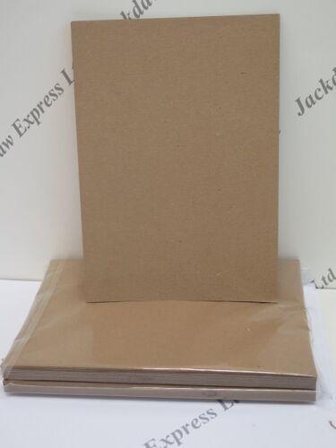 100/% Recyclé Kraft Carte A5 280gsm mariage invitation Cardmaking 50 ou 100 Pack