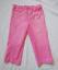 MOTHERHOOD-Trendy-Pink-Maternity-Capri-Jeans-Bleached-Distressed-SMALL-4-6 thumbnail 1