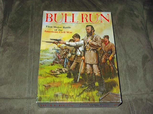Avalon Hill - BULL RUN - First Battles American Civil War 1861-2  (PUNCHED) copy