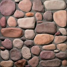 Stone Veneer Cultured Manufactured Valley Stream River Rock -In Stock- Call Now!