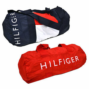 Image Is Loading Tommy Hilfiger Duffle Large Packable Bag Mens Womens