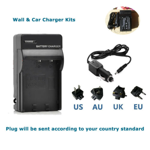 Cargador de batería para cámara Bell /& Howell DV30HD Fuji NP-60//Pentax D-L12