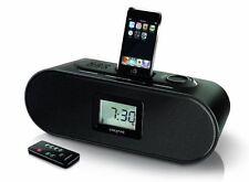für Apple iPhone iPod Boxen Creative d160 Radio Wecker Dockingstation aux 3,5 mm