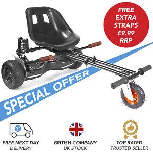 Set of Adhesive Pads Sticky Black For Model Hoverkart Racer Scooters Go Kart UK