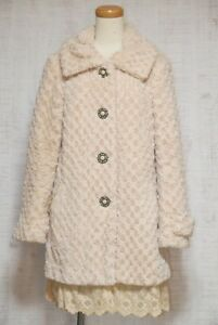 Gyaru Femme Kawaii Style 24 Fur Fashion 901 Cute Axes Coat Japansk RYBwgqg