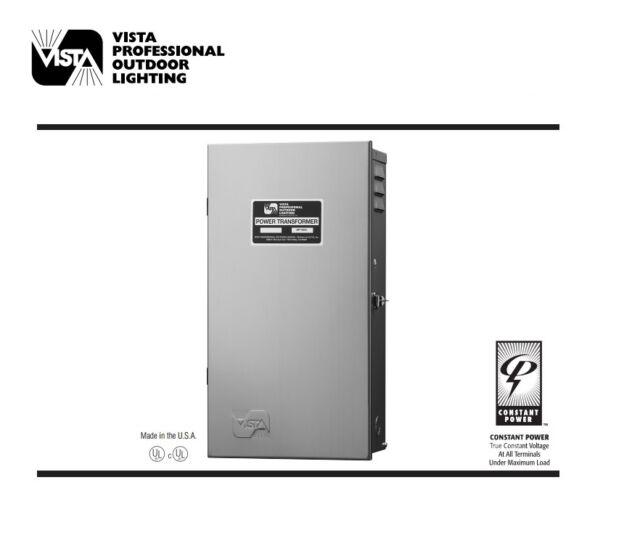 Vista Mt 900t Outdoor Lighting Va Multi Tap Low Voltage Transformer With Timer