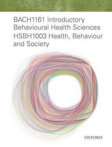 Bach1161 Intro Behavioural Health Sci Hsbh1003 Health, Behaviour & Society by...