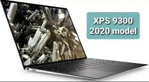 Dell XPS 13 9300 10th Gen i5-1035G1 8GB RAM 512GB SSD 500nits FHD Silver +Sleeve