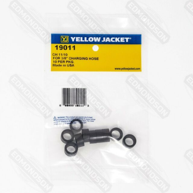 10 Hose Yellow Jacket 19011 CH11-Bulk Gaskets 10 Pack