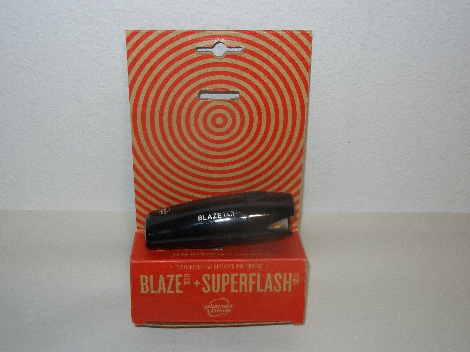 PLANET BIKE BLAZE 140 SL SUPERFLASH TURBO HEADLIGHT