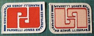PARNELLI-JONES-ENTERPRISES-EMBROIDERY-PATCH-IRON-ON-SCCA-RACING-MUSTANG-BOSS-302