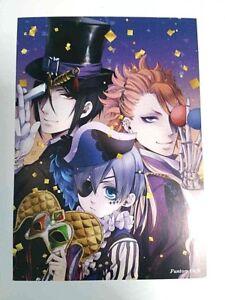 Black Butler Bonus Card 27 Ciel Sebastian Yana Toboso Illustration Anime Square