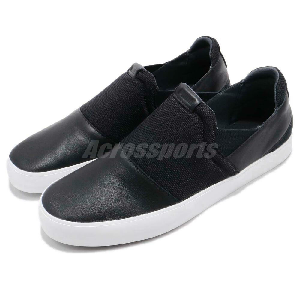 Puma SF Slip On Moonless Night noir blanc homme Casual chaussures Sneakers 306118-01