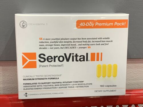US-SELLER-SeroVital-Dietary-Supplement-160-count-Expires-July-2022