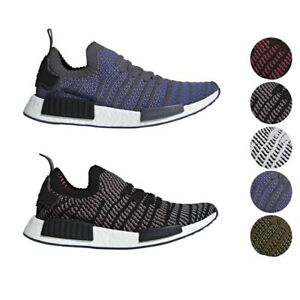 aa4f723a0455 Adidas Originals NMD R1 STLT Primeknit PK Boost Shoes Men s CQ2388 ...