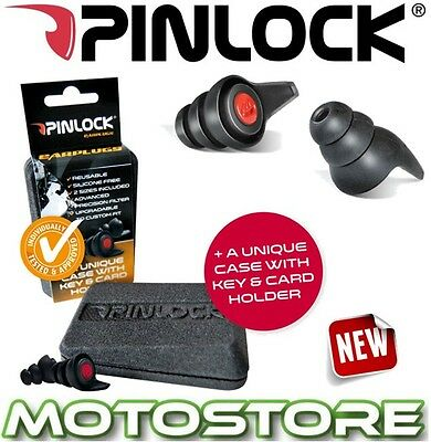 PINLOCK HEARING PROTECTORS BIKER BIKE EAR PLUGS SILICONE FREE RE-USEABLE