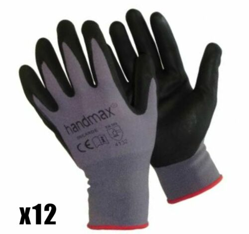 HANDMAX Kansas Foam Nitrile xxLarge Gloves Kansas-xxL x12