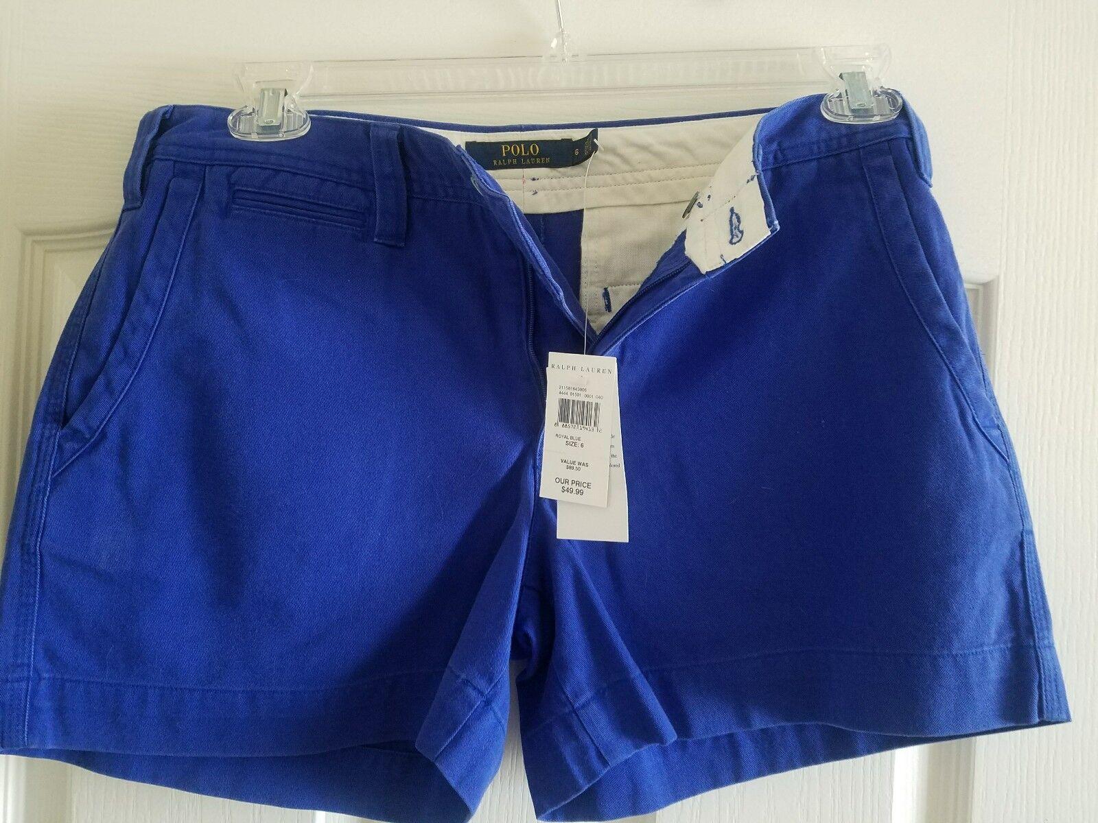 Ralph Lauren bluee label womens shorts size 6