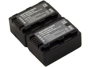 New-2pcs-VW-VBK180-VBK360-Battery-for-Panasonic-SDR-H101-H100-H85-H95-HDC-SD40PC