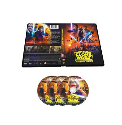 star wars: the clone wars season 7 dvd, 3-disc set brand new | ebay