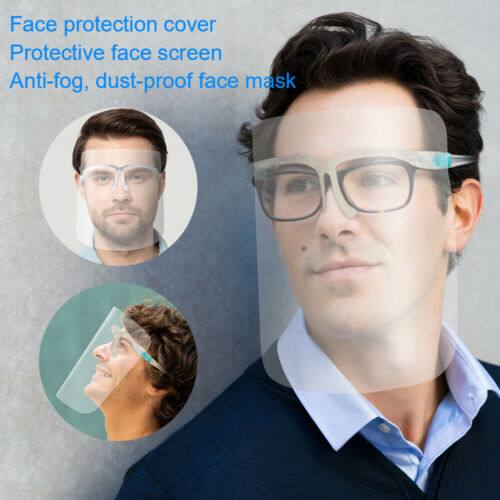 Protective Clear Head-mounted Face Eye Shield Screen Anti-fog Cover Cooking MT67