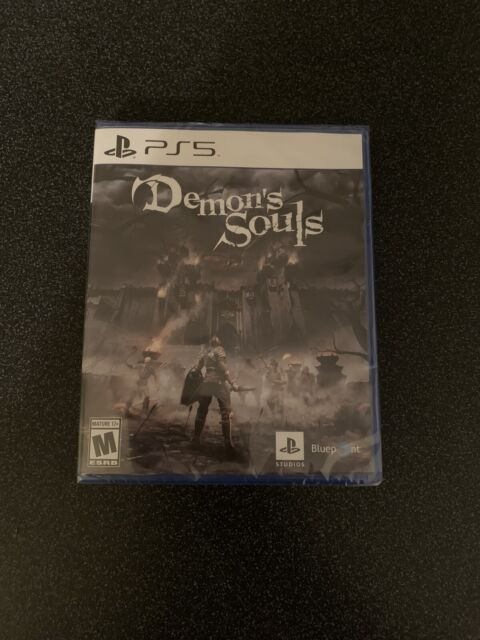 Demon's Souls PlayStation 5 PS5 Brand New Factory Sealed