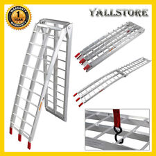 "Motorcycle Folding Loading Ramp Aluminum 90"" Dirt bike Street bike 750lbs Rated"