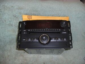 Image Is Loading 2007 2009 Chevy Gmc Truck Radio 1500 Silverado