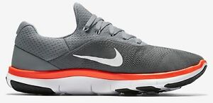 25d6d0ae3bb1e New Men Nike Free Trainer V7 898053 001 Athletic Shoes Grey Orange ...