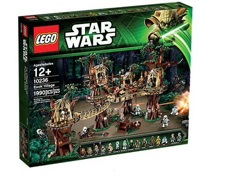 NEW LEGO Star Wars Ewok Village  10236  Sealed Box Set