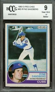 1983-o-pee-chee-83-RYNE-SANDBERG-chicago-cubs-rookie-card-BGS-BCCG-9