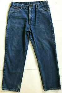 Carhartt Relaxed Actuel Jeans Fit fusel jambe Tag 38x32 40x32 rwOqXrUR