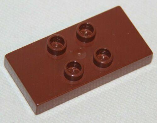 Baukästen & Konstruktion Lego Duplo 6413 braun flacher Baustein Platte 2 x 4 x 0,5  8er mit 4 Noppen